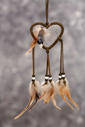 Heart-Shaped Dreamcatcher