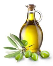 Olive oil jug.