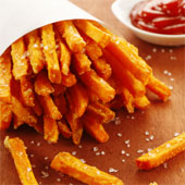 French fries with salt.
