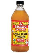 Bragg apple cider vinegar with mother