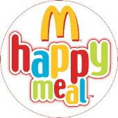 McDonald's Happy Meal logo.