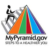 MyPyramid nutrition guide.
