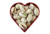 Superfood: pistachios.