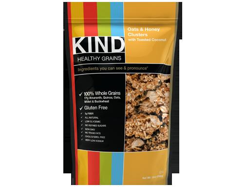 KIND granola clusters