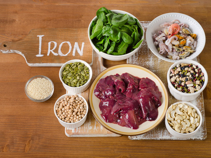 Food That Are High In Iron Pregnancy