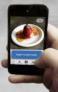 snap your food on your phone