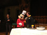 Mickey Mouse makes an appearance at Disney's Wine and Dine Half Marathon