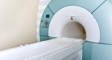 MRI machine used to monitor multiple sclerosis progression