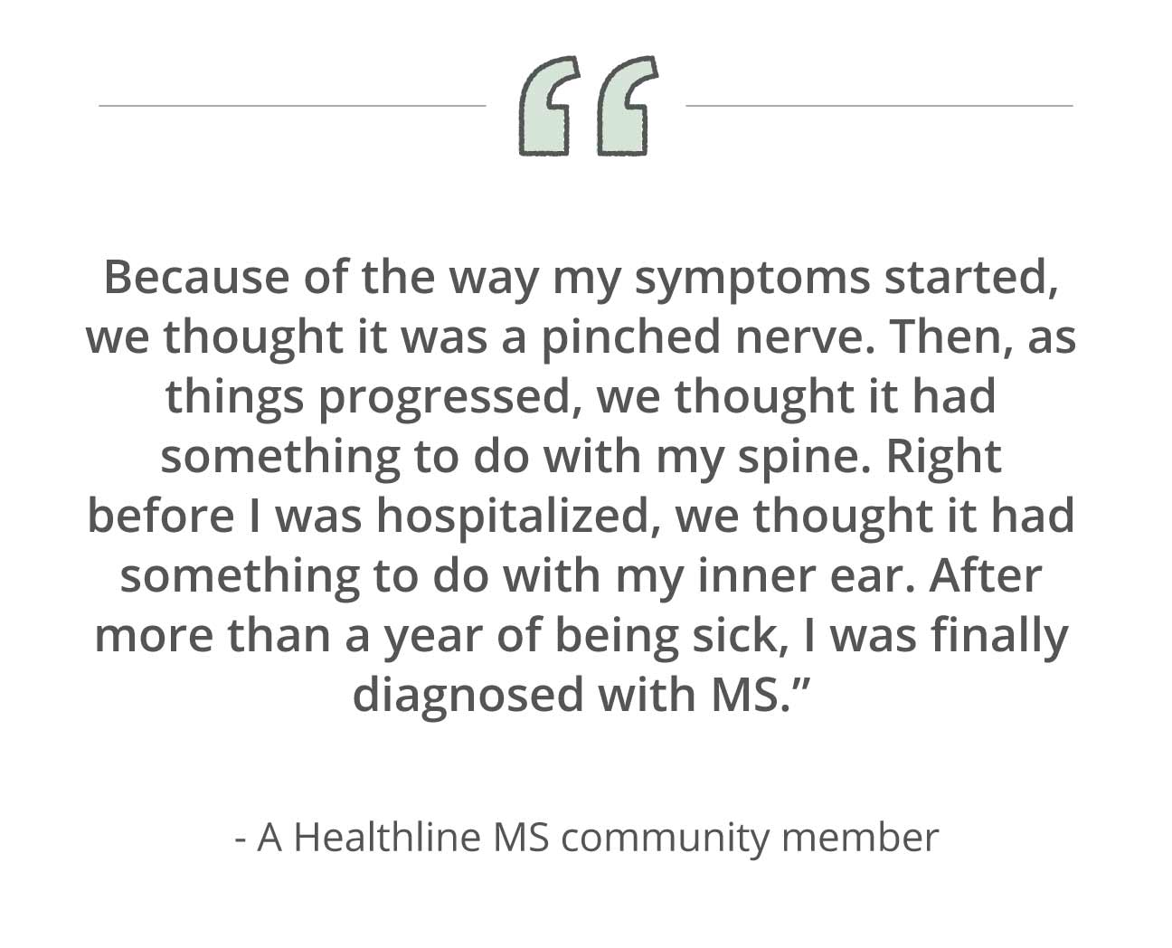 multiple sclerosis: 16 early signs