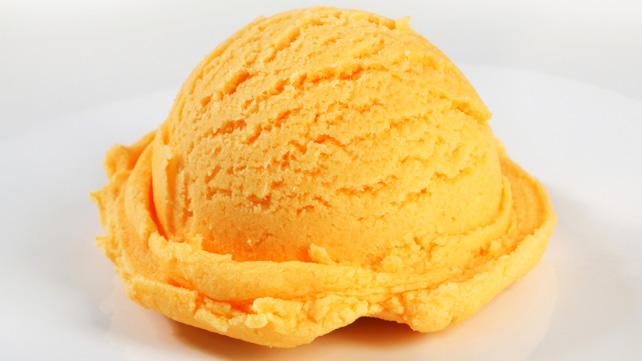 Tangerine Yogurt Sorbet Recipe