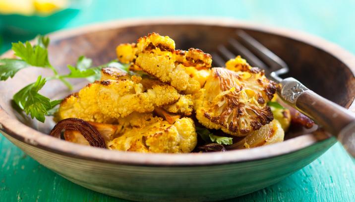 Balsamic Glazed Cauliflower