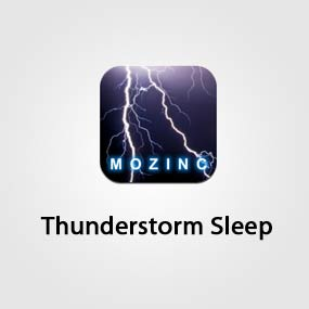 Thunderstorm Sleep sound