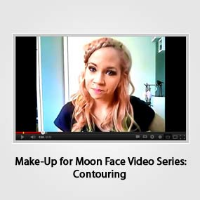 Make-Up for Moon Face Video Series: Contouring