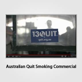 Australian Quit Smoking Commercial