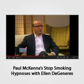 Paul McKenna's Stop Smoking Hypnoses with Ellen DeGeneres