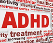 ADHD related words graphic