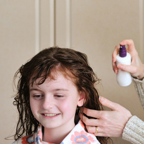 head lice essential oils spray