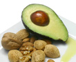 nuts and avacado