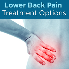 lower back pain treatment options