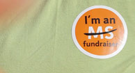 ms fundraiser sticker