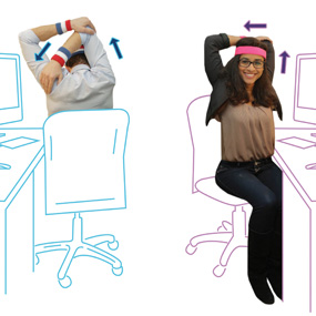 The Ultimate Deskercise Routine 12 Stretches For The Office