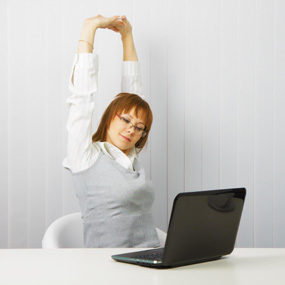 Health The Ultimate Deskercise Stretch Routine
