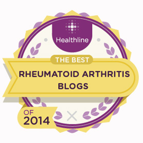 We're in the top 20 rhematoid arthritis blogs for 2014