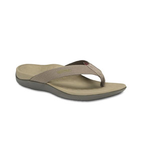 The Vionic Tide II is the most-advanced version of Orthaheel's best-selling women's sandal. The Tide seamlessly incorporates enhanced arch support, unmatched comfort and classic flip flop style into one seriously innovative shoe.