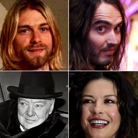 Celebrities with bipolar disorder include Kurt Cobain, Winston Churchill, Catherine Zeta-Jones, and Russel Brand