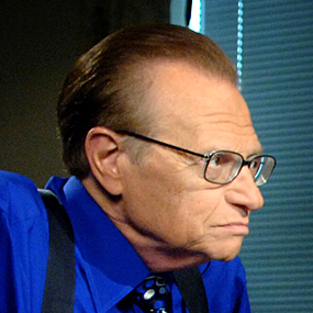 Larry King is a celebrity with heart disease