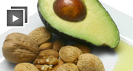 walnuts and avocado