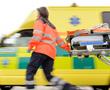 rushing paramedic