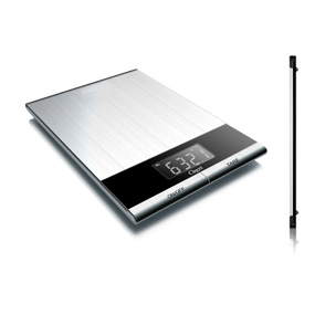 Ultra thin digital kitchen scale.