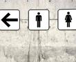 restroom placard