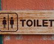 toilet placard