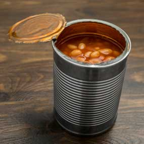 Baked Beans in a Can