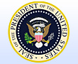 The presidential seal.