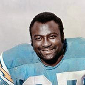 Football player and Super Bowl champ Lionel Aldridge