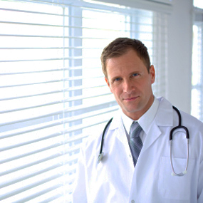 Image of male doctor.