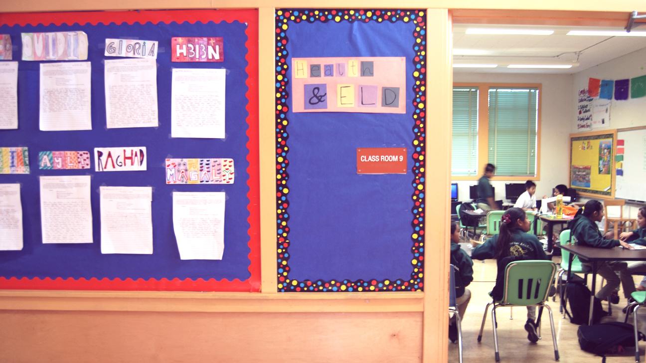 Allison Schaffers classroom
