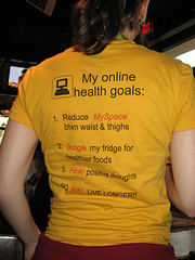 My online health goals