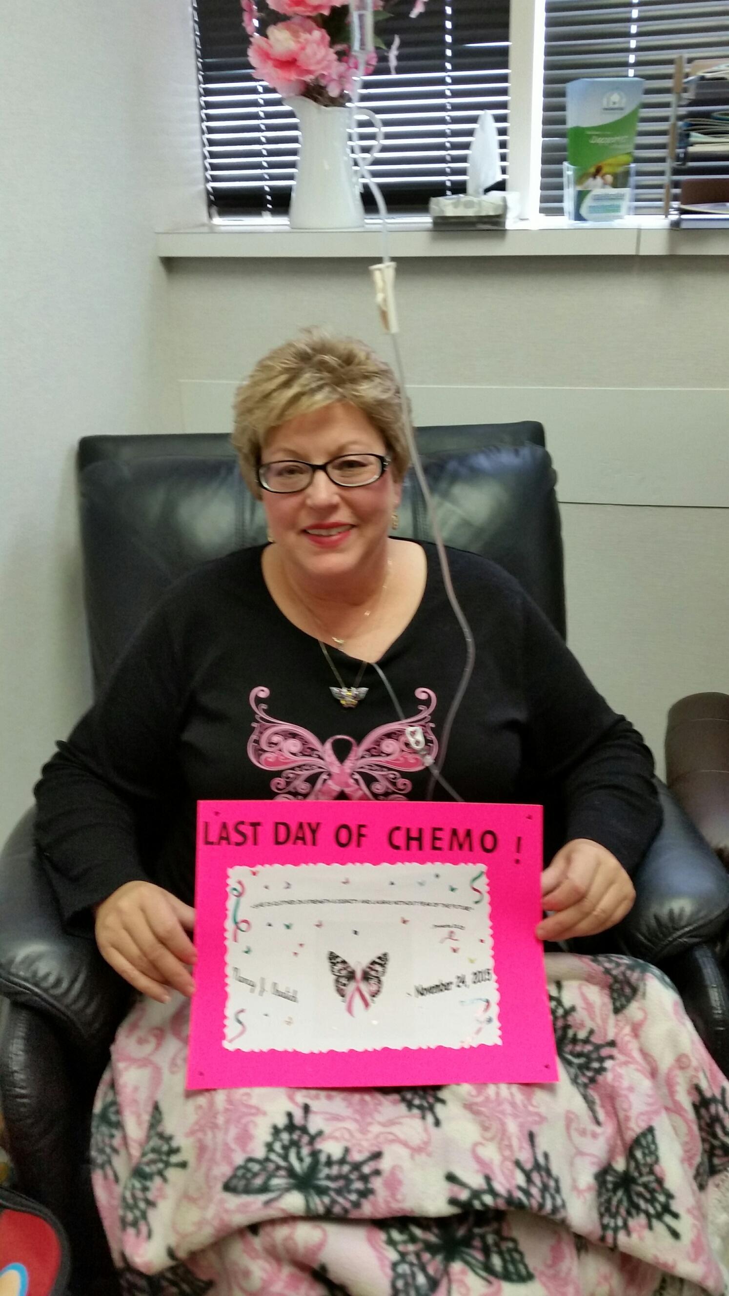 Nancy beat cancer!