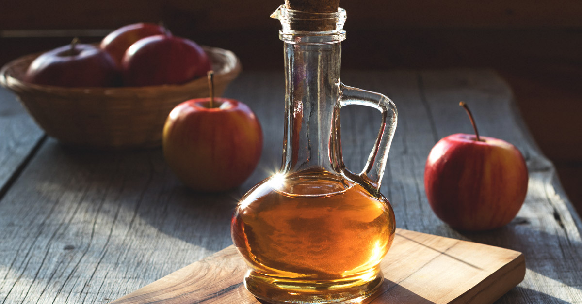 Apple Cider Vinegar Cyst