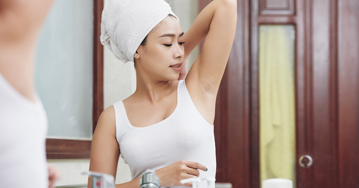 Ingrown Hair: Armpit