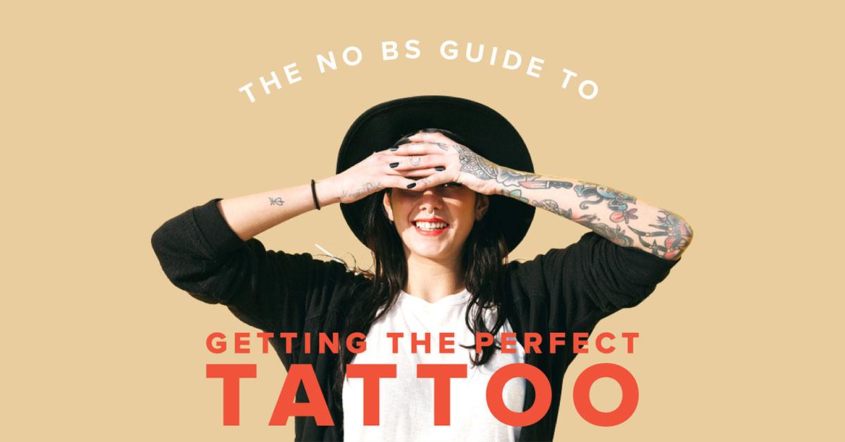 No Bs Przewodnik Tatuaże Projektowanie Ból Zaradczych A