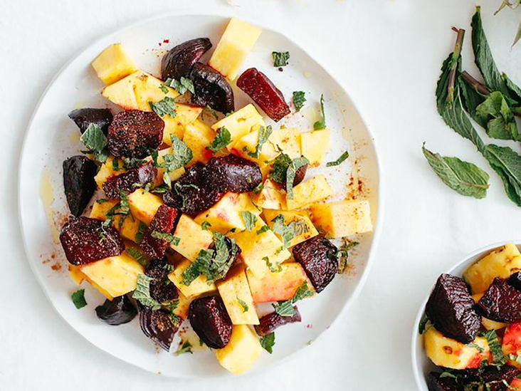 3 Gut-Friendly Salads Packed with Pineapple, Beets, and More