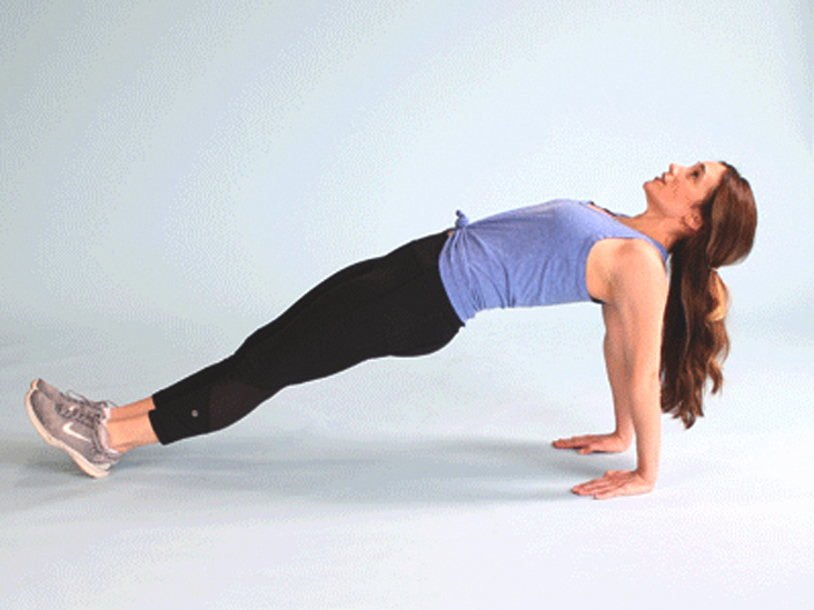 Challenge Your Core by Doing Reverse Planks