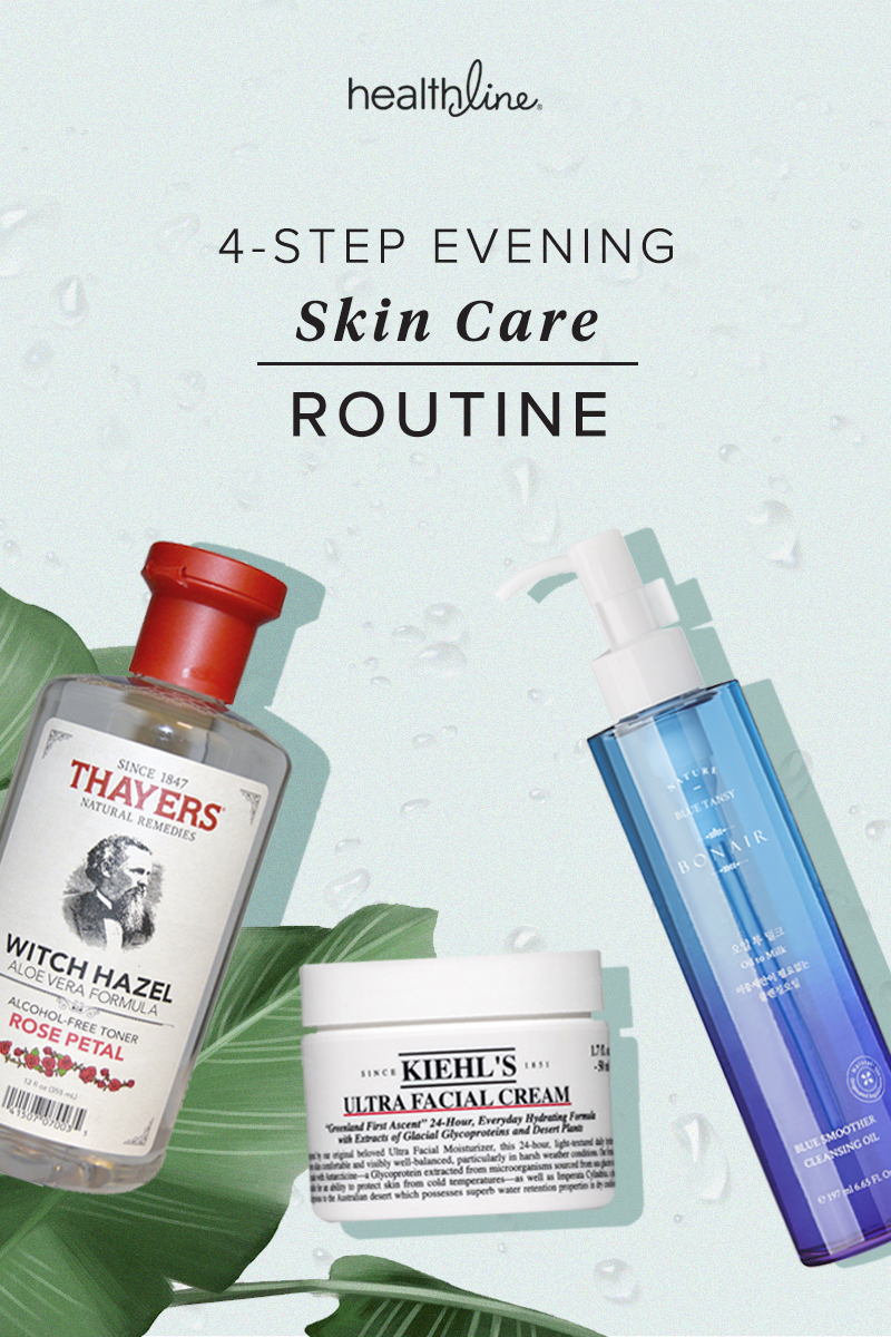 Try This 4 Step Nighttime Skin Care Routine For Clear Skin