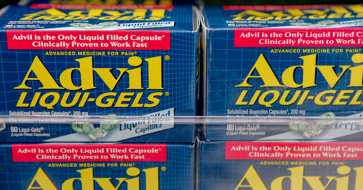 is advil bad for your liver