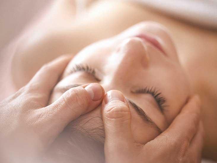 Sacral facial therapy